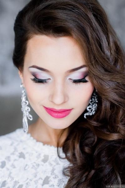 Макияж красивый для невесты