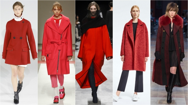 Стильное пальто 2017 зима
